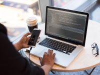 phone and macbook pro